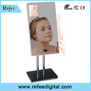 Wholesale makeup mirror: 2020 OEM/ODM LCD Dispaly Motion Sensor Makeup Classroom Magic Mirror Digital Signage