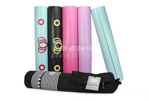 Wholesale rubber mat: Digital Printing PU Rubber Yoga Mat Not Fade Durable OEM PU Yoga Mat