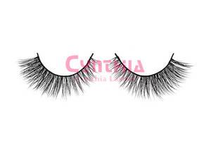 Wholesale eye makeup: 100% Real Mink Natural Thick False Fake Eyelashes Makeup Eye Lashes