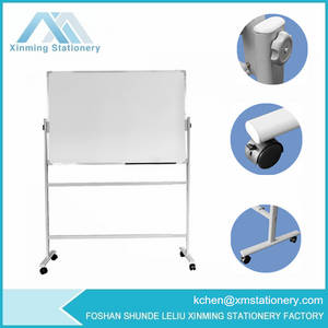 Wholesale dry erase board: Magnetic Display Whiteboard Stand Dry Erase Marker Board Stand Painting Board Stand