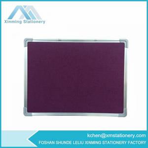 Wholesale memo board: Purple Felt PIN Board Purple  Purple Fabric Memo Board