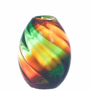 hand blown glass homedecor vases