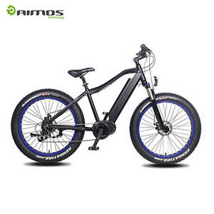 Wholesale mid: Mid Drive Max 250w 1000w Electric Fat Bicycle