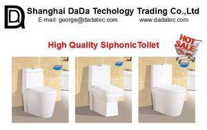 Wholesale pot stand: DD223 Siphonic One Piece Toilet