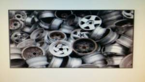 Wholesale wheel: Aluminium Wheel Scrap