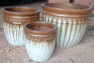 Wholesale pottery: Outdoor Ceramics Planter