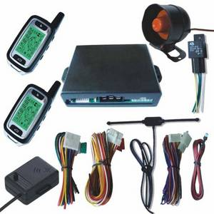 Wholesale car alarm system: Two Way Car Alarm System with Engine Start
