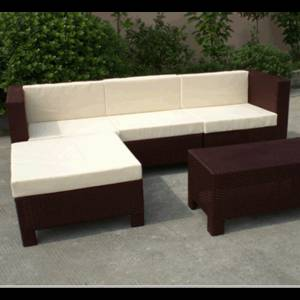 Wholesale Garden & Patio Sets: Outdoor Wooden Sofa Set with Fast Delivery