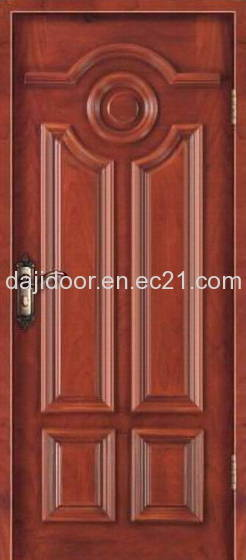 Modern Apartment Carved Interior Solid Wood Door Design Id