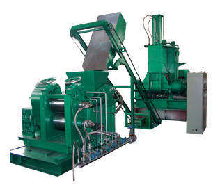 plastic extruder: Sell Mixing-extruding-sheeting line