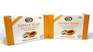 Wholesale papaya soap: GT Papaya Soap