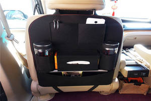 Wholesale Makeup Tool: Car Seat Back Felt Storage Bag