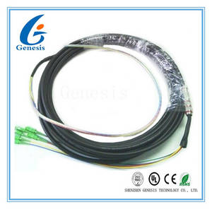 Wholesale pc station: 6 Core SC / APC Fiber Optical Pigtail