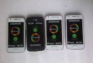 Wholesale wifi mobile phone: Mini S4 Phone S4 Android 4.2 Smart Phone 4.0 Capacitive Screen 1.0Ghz WIFI Dual SIM Mobile Phone
