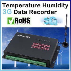 Wholesale security system: Temperature Humidity 3G Ethernet Data Logger