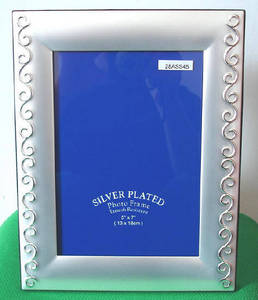 Wholesale table covers: Silver Plated Photo Frame