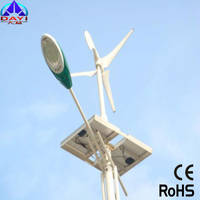 Wind and Light Solar LED Street Lamp