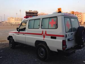 Wholesale ambulance: Toyota Land Cruiser Ambulance (70 Series)