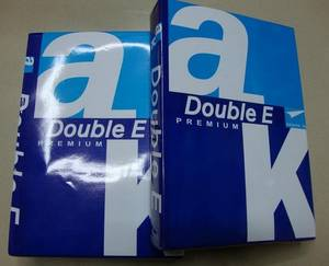 Wholesale packing box: Double A4 Copy Paper 80GSM (100% Virgin Woold Pulp, 102-104%) ~ CNF $0.8 USD