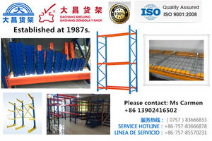 Wholesale heavy duty storage racks: Heavy Duty Warehouse Racking/Long Span Pallet Racking/ Storage Racking/ Dachang Factory High Quality