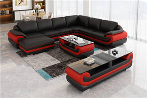 Wholesale sofa: Wholesale High Quality L Shape Sectional Leather Sofa