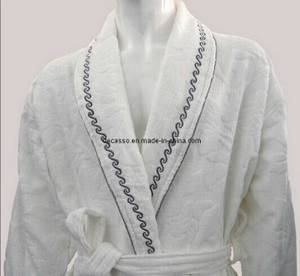 Wholesale nightwear: Good Quality Hotel Bathrobe with Embroidery (DCS-9002)