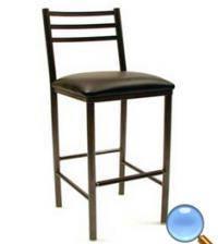 Wholesale sponge: Environmental Standard Metal Chair/Round Steel Tube Bar Chair/Stool with Sponge