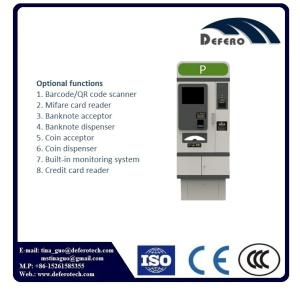 Wholesale payment kiosks: Fully Automated Parking Management System Payment Kiosk Auto Pay Station