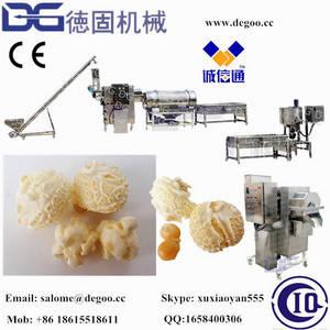 Wholesale mushroom production line: Cretors Technology Caramel Mushroom Popcorn Production Line