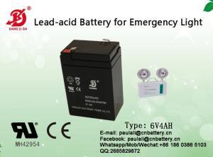 Wholesale 24hr car service: kids Cars, 6v4ah Battery for Emergency Light