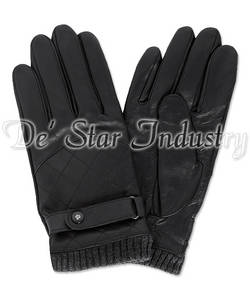 Wholesale Leather Gloves & Mittens: Men Dressing Fashion Leather Gloves