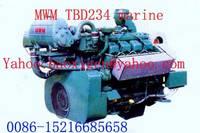 MWM TBD234 V6 TBD234 V8 TBD234 V12 Marine Engine
