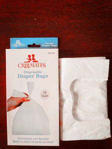 Wholesale Diaper/Nappy Bags: HDPE Colourful Scented Baby Nappy Bags, Baby Diaper Bags