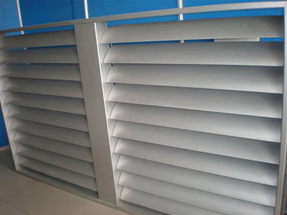 Sell Fixed Metal Window Louver Sun Louvers Foshan Dexone
