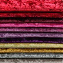 Wholesale polyester sofa fabric: Knitted Polyester Spandex Solid Diamond Velvet Sofa Fabric