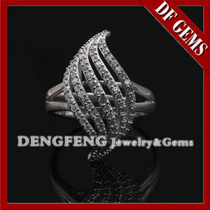 Wholesale wholesale sterling silver jewelry: Beautiful Micro Pave Setting 925 Sterling Silver Jewelry Wholesale