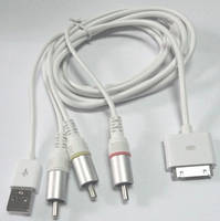 AC RCA Cable for IPOD, Iphone, Ipad Accessories