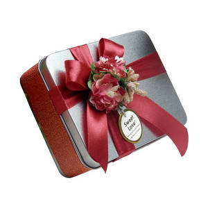 Wholesale candy tin: Wedding Gift Favor Candy Tin Box Greeting Gift Car Case