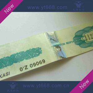 Wholesale printing labe: Security Hot Stamping Hologram Labels for Red Wine