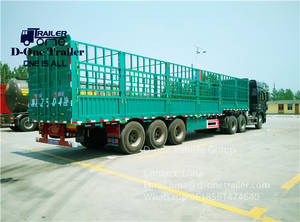 Wholesale semi trailer: Chinese Best Selling 35/40ton Cargo Semi Trailer Used Trailers Trucks