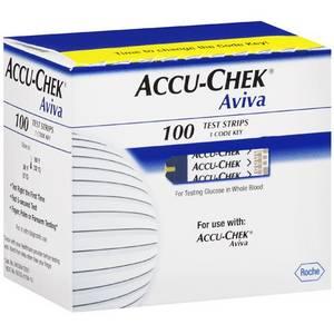 Wholesale glucose test strips: ACCU-CHEK Aviva Test Strips 100 Count