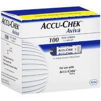 ACCU-CHEK Aviva Test Strips 100 Count
