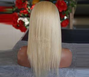 Wholesale Hair Extension: Straight Blonde Cheapest Full Lace Wigs