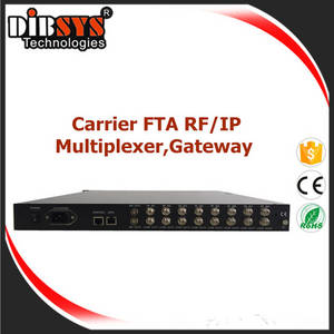 Wholesale gateway: 8x RF Tuners FTA To IP Gateway and Multiplexed