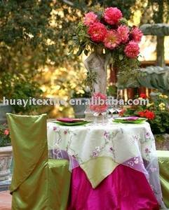 Wholesale table cover: Chair Cover and Table Cloth