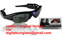 mobile eyewear recorder spy sunglasses dvr camera sunglasses