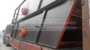 Wholesale vibrating screen: China Professional Stone Vibrating Screen