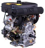 22hp V Twin Air Cooled Diesel Engine