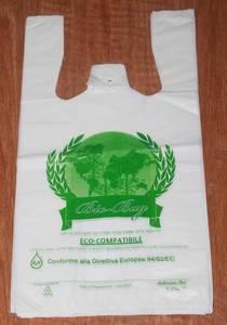 Wholesale bags: T-shirt Plastic Bag