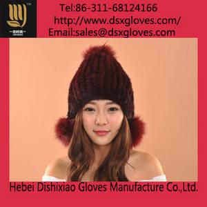 Wholesale winter hat: Winter Mink Hat for Women